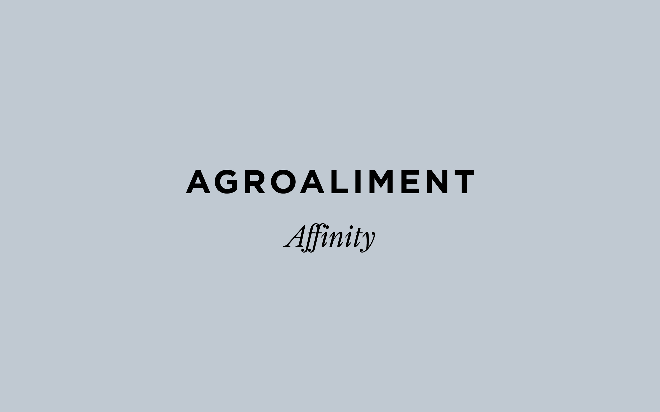 Agroaliment Affinity