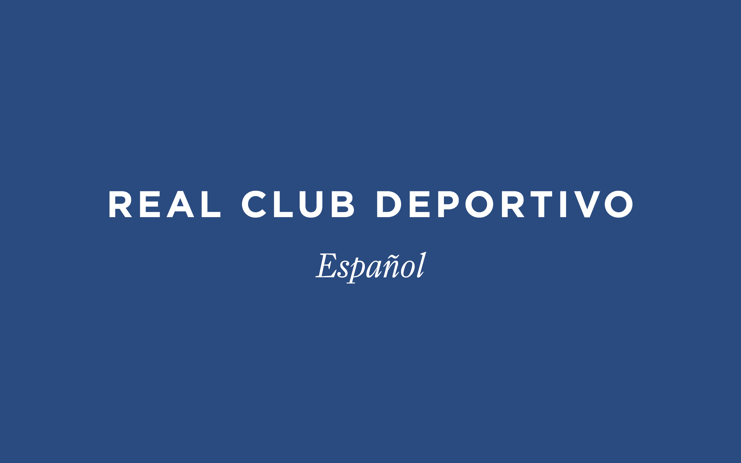 Real Club Deportivo